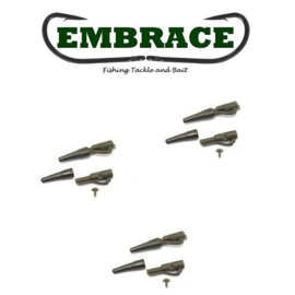 Embrace Safety Lead Clip + pin Bruin (10x)
