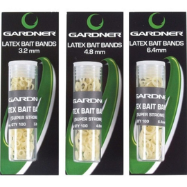 Gardner Latex Bait Bands (Alle maten)