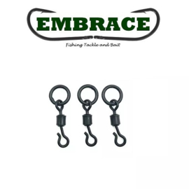 Embrace Flex Lock Ring Swivel mt 11 Big (20x) (Ronnie, Spinner, 360)