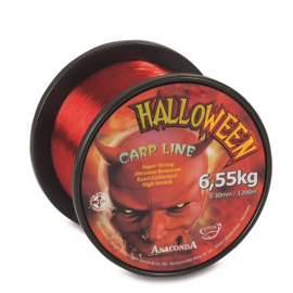 Anaconda Halloween Carp Line 0.33 Red 1.200mtr