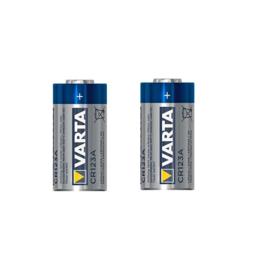 Batterij Varta CR123A 2 STUKS