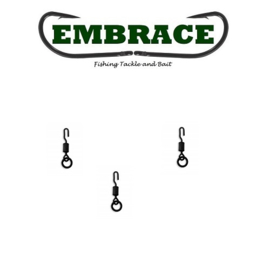 Embrace Flex Lock Ring Swivel mt 11 (25x) (Ronnie, Spinner, 360)