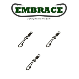 Embrace Snap Swivel mt 8 (10x)
