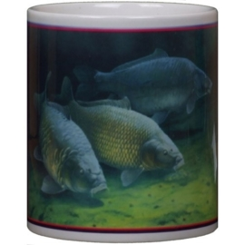 Mug Three Cautious Carp