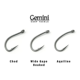 Gemini Ultra Hooks Wide Gape Beaked (Alle maten)
