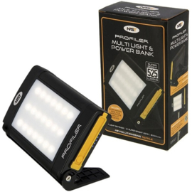 NGT Light Profiler Solar Multilight 21 LED Lamp + Powerbank
