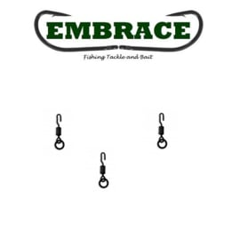 Embrace Flex Lock Ring Swivel mt 11 (10x) (Ronnie, Spinner, 360)