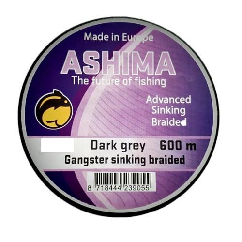 Ashima Gangster 8 Braid Sink Grey 20LBS