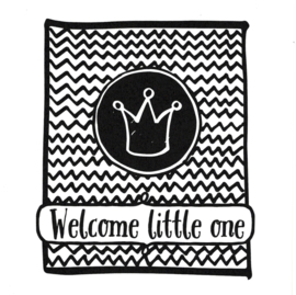 Wenskaart 'Welcome little one'