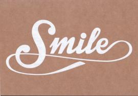 Ansichtkaart 'Smile'