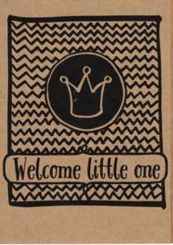 Ansichtkaart 'Welcome little one'