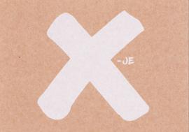 Ansichtkaart 'X-je'