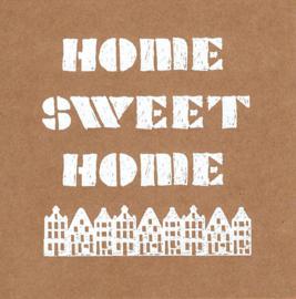 Wenskaart 'Home Sweet Home'