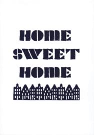 Ansichtkaart 'Home sweet home'