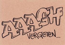 Ansichtkaart 'AAAGH'