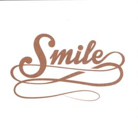 Wenskaart 'Smile'