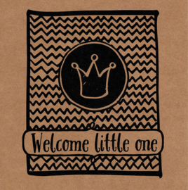 Wenskaart 'Welcome little one'
