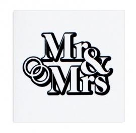 Wenskaart 'Mr & Mrs'