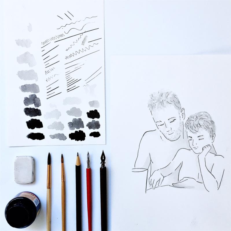 Workshop Inkttekening (op aanvraag)
