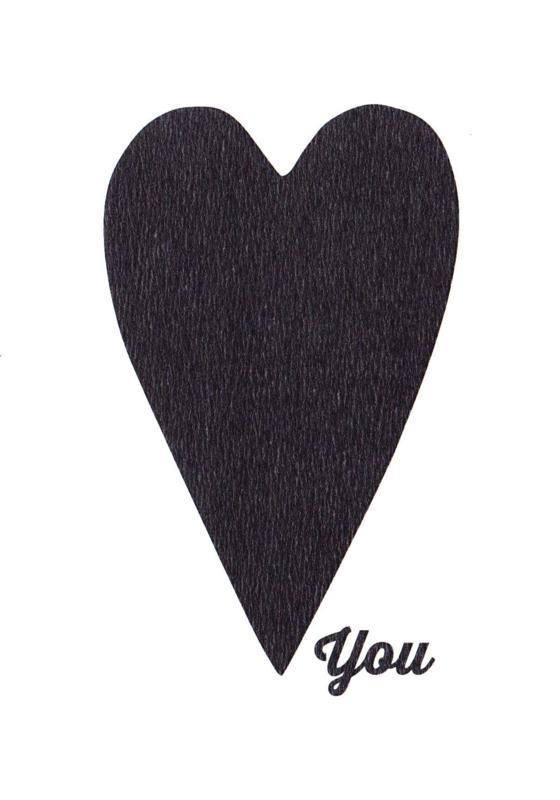 Ansichtkaart 'Love you'