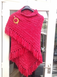 Scarf red - to order