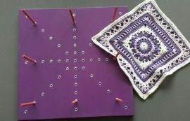 Grannyblockstation  PURPLE - 8 pins SPECIAL EDITION (on stock)