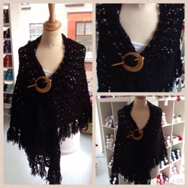 Scarf black - to order