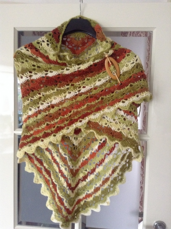 Omslagdoek multicolour (batik)