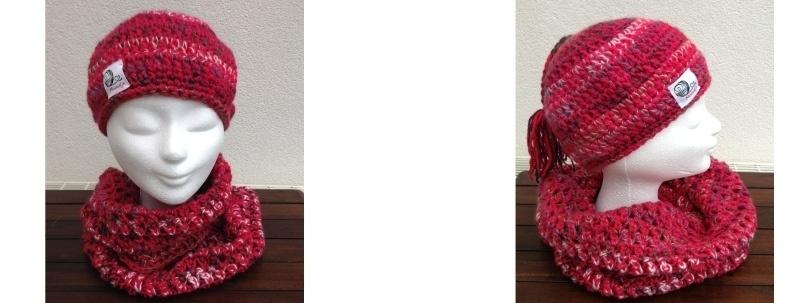 Beanie Muts + Sjaal 1015
