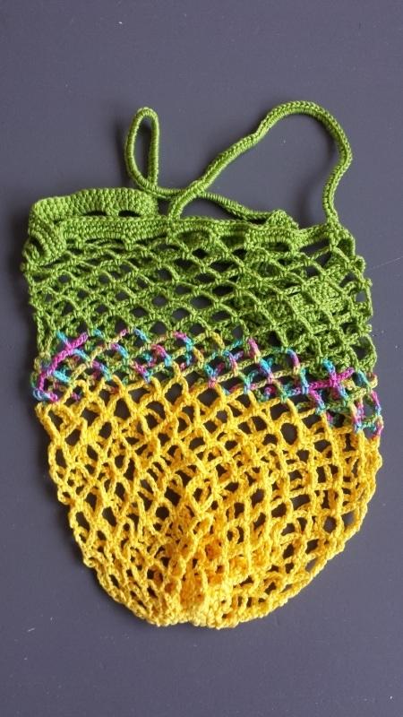 Boodschappennet Groen / Geel