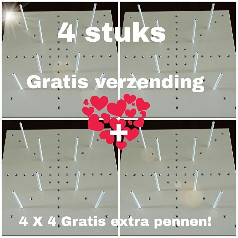 VRIENDINNEN SET 4 Grannyblokspanners met GRATIS extra pennen / gratis verzending!