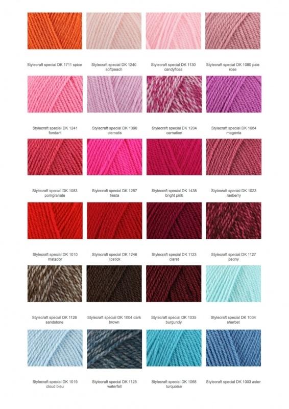 Kleurenkaart Stylecraft 2-3
