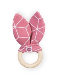 Jollein - Bijtring - Graphic Mauve/Pink