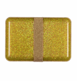 A Litte Lovely Company - Lunchbox - Glitter gold
