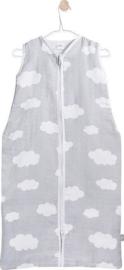 Jollein- Zomer slaapzak Clouds grey ( 70,90.110 cm)