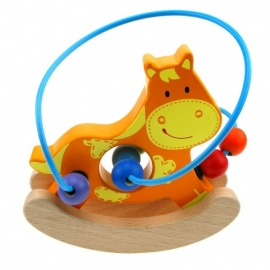 Babygeluk - Kralen activiteiten spiraal Paard