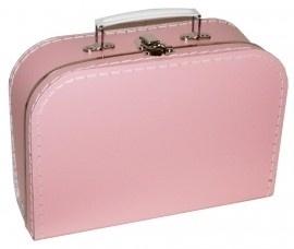 Kinderkoffertje babyroze  Medium 25 cm  x 18 cm  x 9 cm