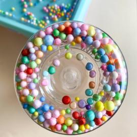 Petit Monkey - Drinkfles - Macaron pops - Lilac
