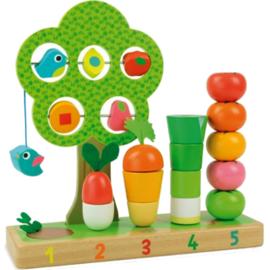Vilac - Ik leer tellen met groenten  en fruit