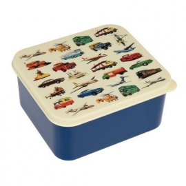 Rex - Lunchbox Vintage Transport - Blauw