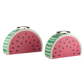 Kofferset - Watermeloen- 2 stuks