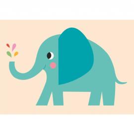 Rex - Geboortekaart / verjaardagskaart meisje