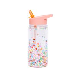 Petit Monkey - Drinkfles - Macaron pops - Soft Coral