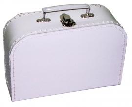 Kinderkoffer  Medium Wit 25 cm  x 18 cm  x 9 cm