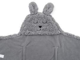 Jollein - Wikkeldeken-Bunny-storm grey