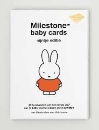 Milestone-Nijntje editie: Baby Cards NL