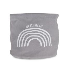 Jollein -  Commode mandje - Rainbow grey