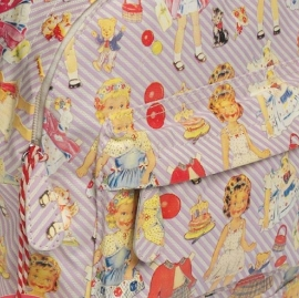 Rex - Kinder rugtas Dress up Dolly