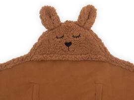 Jollein - Wikkeldeken-Bunny-caramel