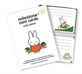 Milestone -Nijntje editie: MINI cards